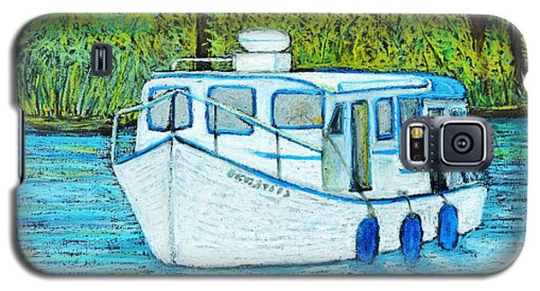 Boat On The River Galaxy S5 Case