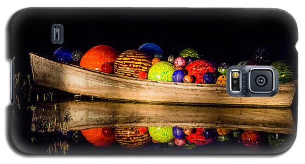 Boat Reflections Galaxy S5 Case