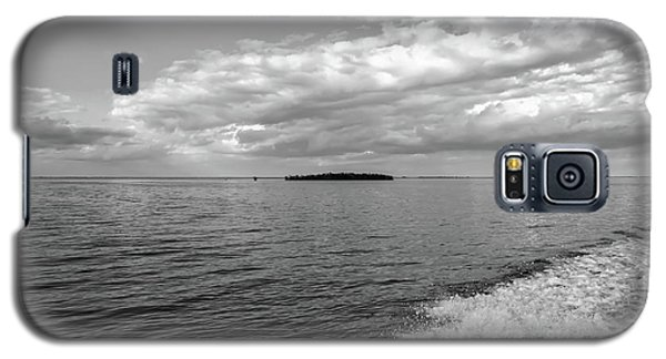 Boat Wake On Florida Bay Galaxy S5 Case