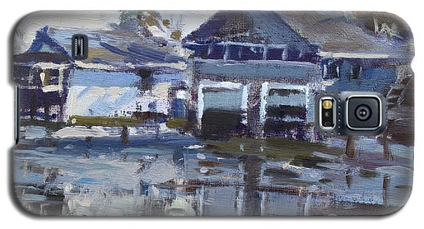 Icy Galaxy S5 Case - Boathouses By Icy Creek by Ylli Haruni