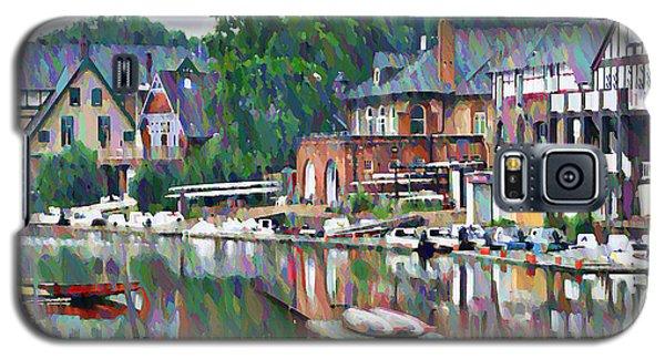 Boathouse Row In Philadelphia Galaxy S5 Case