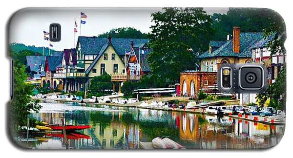 Boathouse Row In Philly Galaxy S5 Case
