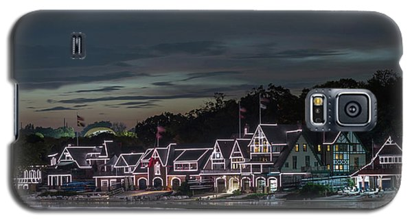 Boathouse Row Philly Pa Night Galaxy S5 Case