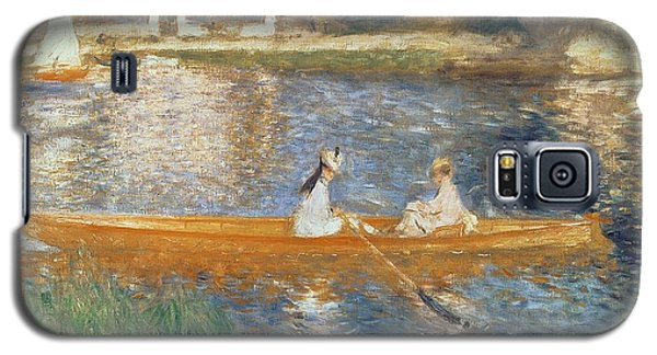 Boating On The Seine Galaxy S5 Case