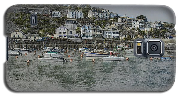 Galaxy S5 Case featuring the photograph Boats At Looe by Brian Roscorla