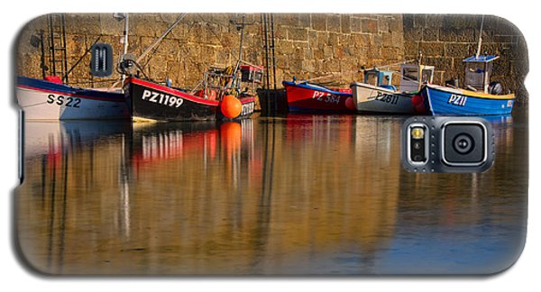 Boats At Mousehole Galaxy S5 Case