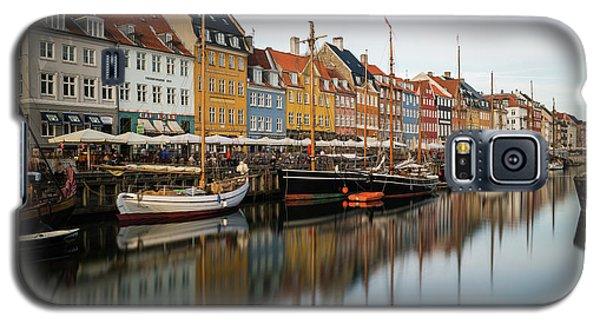 Boats At Nyhavn In Copenhagen Galaxy S5 Case