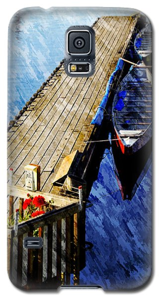 Galaxy S5 Case featuring the photograph Boats At Rest by Bill Howard