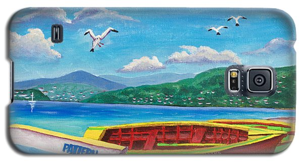 Boats At Rest Galaxy S5 Case