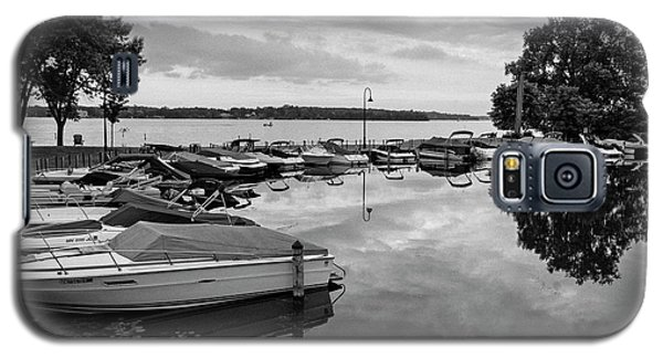 Boats At Wayzata Galaxy S5 Case