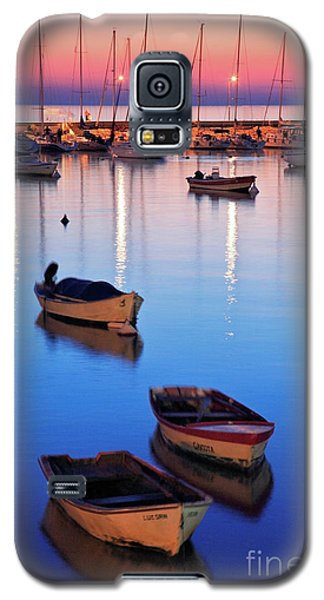 Galaxy S5 Case featuring the photograph Boats by Bernardo Galmarini