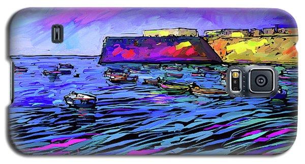 Boats In Cadiz, Spain Galaxy S5 Case