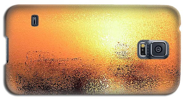 Boats In Gold Galaxy S5 Case