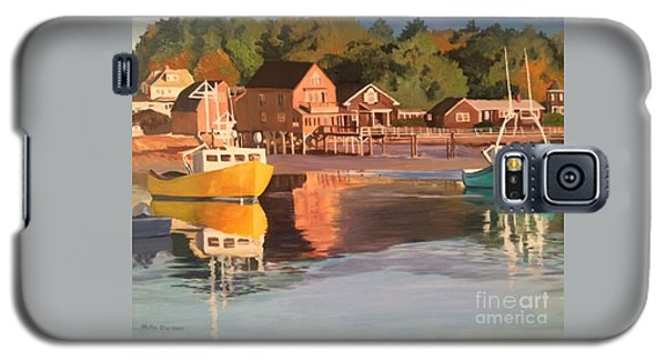 Boats In Kennebunkport Harbor Galaxy S5 Case