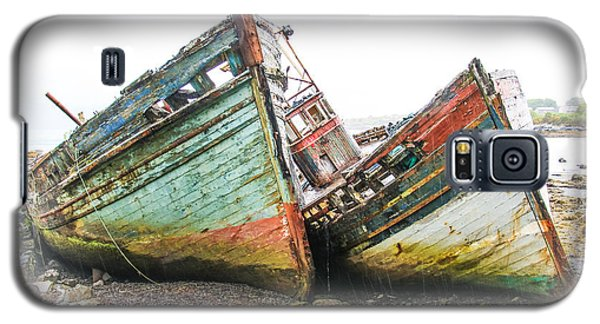 Boats Isle Of Mull 4 Galaxy S5 Case