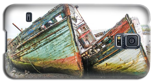 Boats Isle Of Mull 4 Galaxy S5 Case