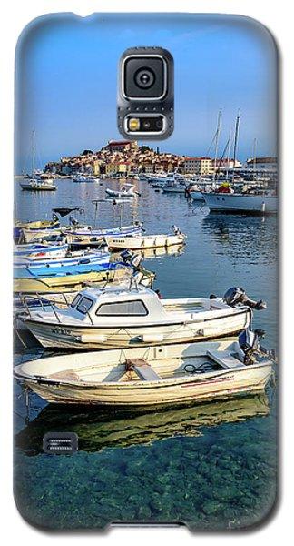 Boats Of The Adriatic, Rovinj, Istria, Croatia  Galaxy S5 Case