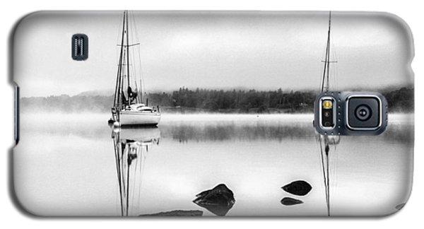 Boats On Ullswater In The Lake District Galaxy S5 Case