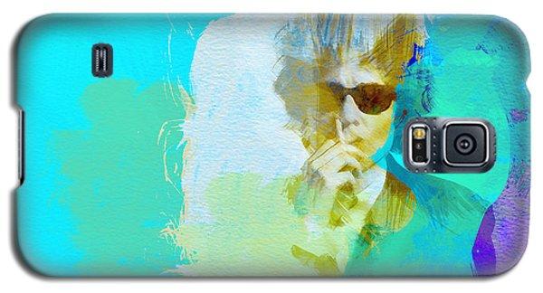 Bob Dylan Galaxy S5 Case - Bob Dylan by Naxart Studio