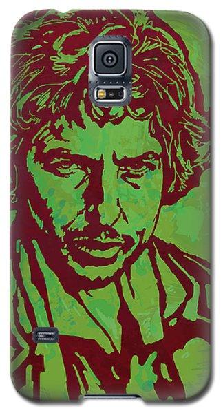 Bob Dylan Pop Art Poser Galaxy S5 Case by Kim Wang