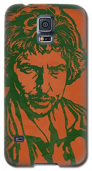 Bob Dylan Pop Stylised Art Sketch Poster Galaxy S5 Case by Kim Wang