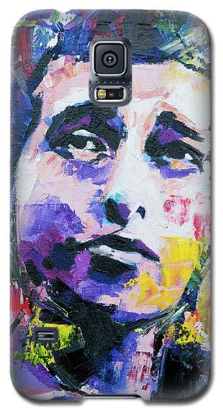 Bob Dylan Portrait Galaxy S5 Case by Richard Day