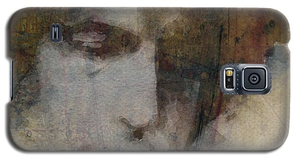 Bob Dylan Galaxy S5 Case - Bob Dylan - The Times They Are A Changin' by Paul Lovering