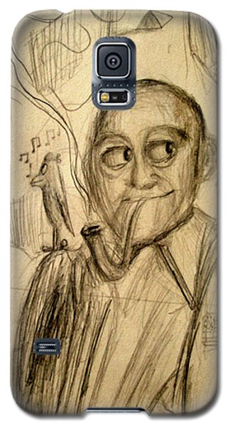 Johnny Carson Galaxy S5 Case - Bob Hope's Dream by Michael Morgan