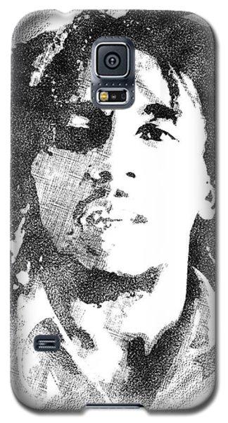 Bob Marley Bw Portrait Galaxy S5 Case