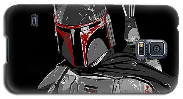 Star Wars Galaxy S5 Case - Boba Fett Star Wars Pop Art by Paul Dunkel