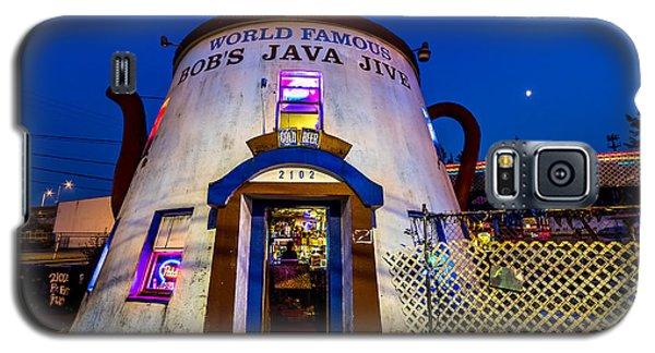 Bob's Java Jive - Historic Landmark During Blue Hour Galaxy S5 Case