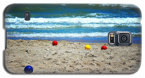 Bocce On The Beach Galaxy S5 Case
