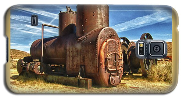 Old Boiler Bodie State Park Galaxy S5 Case by James Hammond