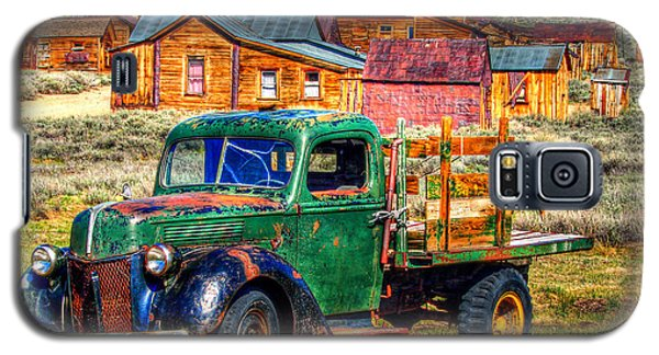 Bodie Ghost Town Green Truck Galaxy S5 Case