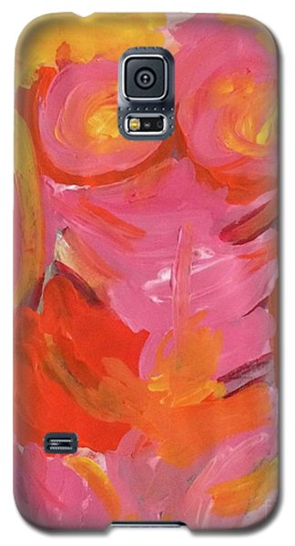 Galaxy S5 Case featuring the painting Body Image by Kim Nelson