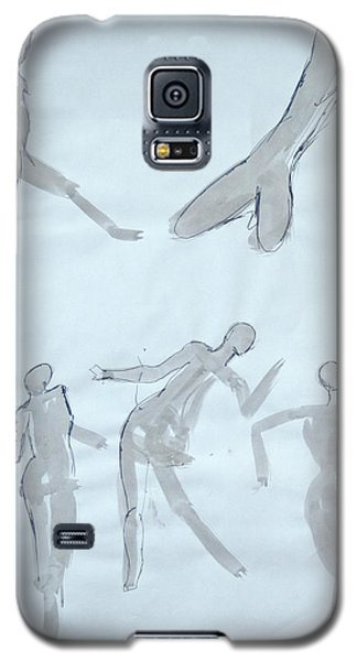 Body Sketches Galaxy S5 Case