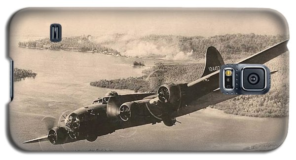 Boeing B-17 Bomb Run 1944 Galaxy S5 Case