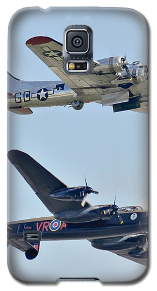 Boeing B-17g Flying Fortress And Avro Lancaster Galaxy S5 Case