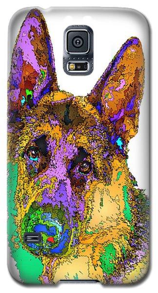 Bogart The Shepherd. Pet Series Galaxy S5 Case
