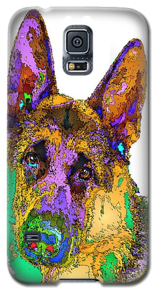 Bogart The Shepherd. Pet Series Galaxy S5 Case
