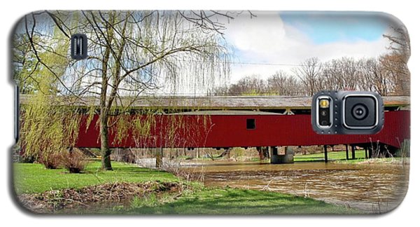 Bogert Covered Bridge Galaxy S5 Case by DJ Florek
