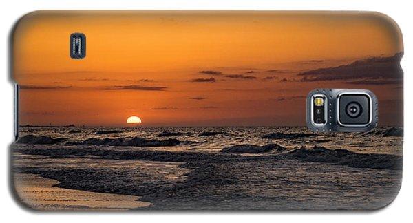 Bogue Banks Sunrise Galaxy S5 Case