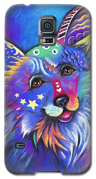 Corgi Galaxy S5 Case by Patricia Lintner