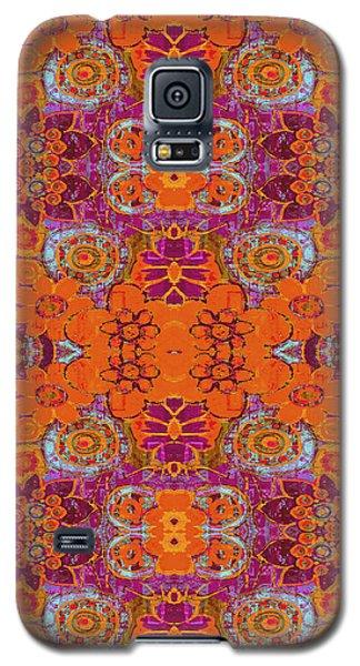 Boho Hippie Garden - Tangerine Galaxy S5 Case