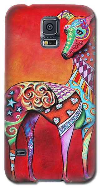 Italian Greyhound  Galaxy S5 Case by Patricia Lintner