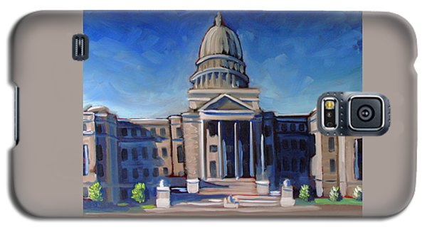 Boise Capitol Building 02 Galaxy S5 Case