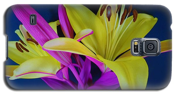 Galaxy S5 Case featuring the photograph Bold Beautiful Flowers by Ray Shrewsberry