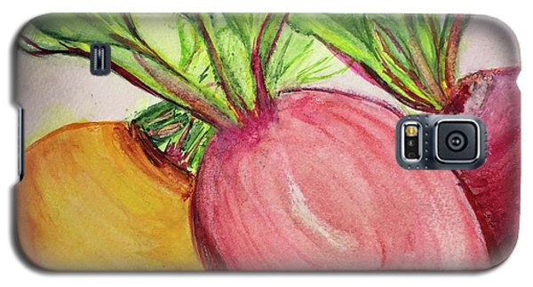 Bold Beets Galaxy S5 Case by Kim Nelson