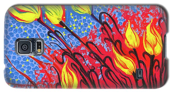 Bold Tulips Galaxy S5 Case