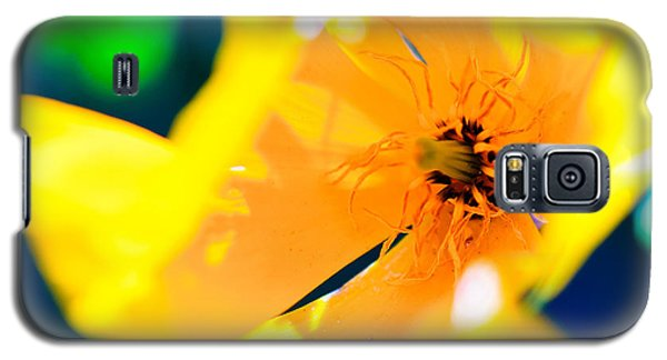 Bold Yellow Galaxy S5 Case